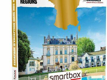 """Vente: Smartbox """"Escapade d'exception dans nos régions"""" (229,90€)"""