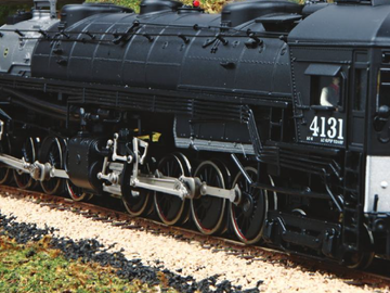 Selling with online payment: MTH HO 4-8-8-2 AC-6 Cab Forward Steam Loco item 80-3271-1