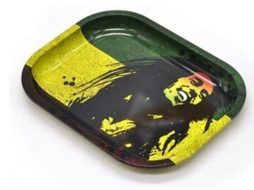 Post Now: Rolling Tray Bob Marley Pic
