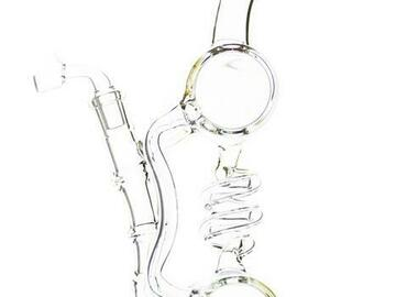 Post Now: Lookah Glass - Spiral Cylinder Recycler