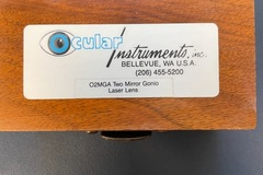 Selling with online payment: Two Mirror Gonio Laser lens (used)