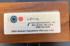 Selling with online payment: Abraham Capsulotomy Laser Lens