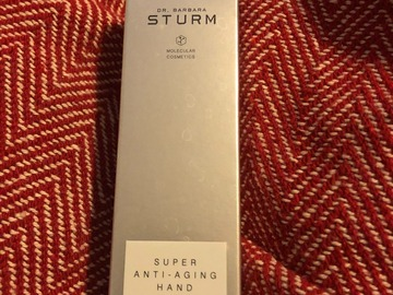 Selling with online payment: Sturm Dr Barbara Super Anti-Aging Hand Cream
