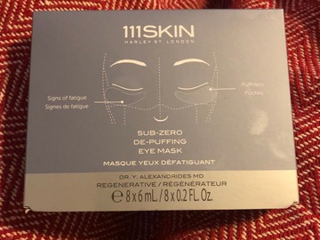 Selling with online payment: 111SKIN sub-zero de-puffing eye mask x 8