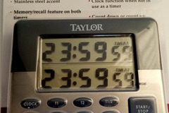 Other Item: TAYLOR Dual Event Timer