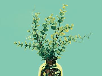 Sell Artworks: Plastic Plants