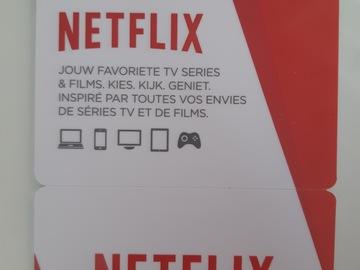 Vente: Carte cadeau Netflix Belgique (25€)