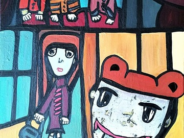 Sell Artworks: Going to the toy store
