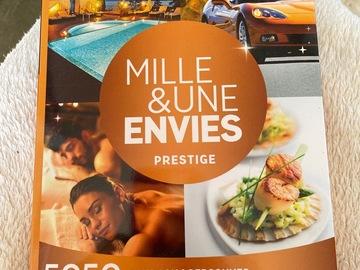 """Vente: Coffret Wonderbox """"Mille & une envies Prestige"""" (59,90€)"""