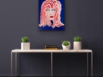 Sell Artworks: Wavy hair