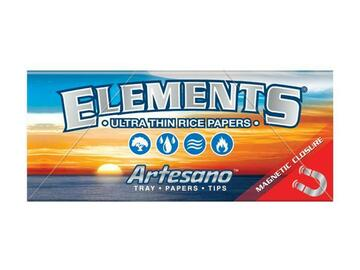 Post Now: Elements Artesano Rolling Papers with Tips - King Size Slim