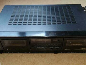 À vendre: SONY TC-WR610 Stereo Double Cassette Deck pour réparation