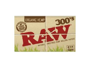 Post Now: RAW Organic Rolling Papers 1¼ - 300 Sheet Pack