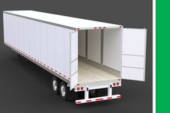 Repositioning with Rental Opportunity: McDonough, GA:  (2) 57' Dry Van Trailers