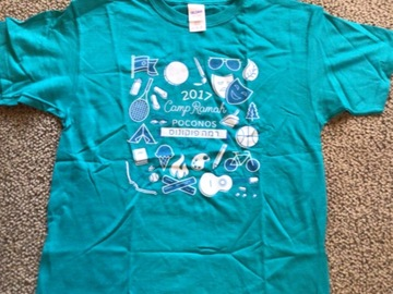 Selling multiple of the same items: CRP 2017 Youth Large Camp T-shirt