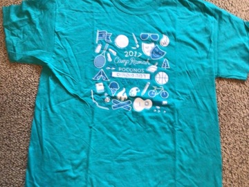 Selling multiple of the same items: CRP Adult Large 2017 Camp T-shirt