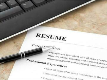 Offering with online payment: Resume Writing 101