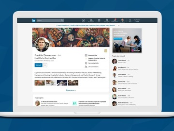 Offering with online payment: LinkedIn Profile Update