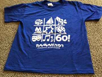 Selling multiple of the same items: CRP Youth Large 60th Anniversary Camp T-shirt
