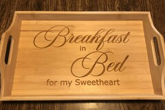 Selling with online payment: Breakfast In Bed Tray