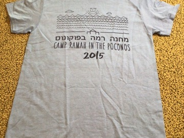 Selling multiple of the same items: CRP Adult Small 2015 Camp T-shirt