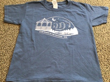 Selling multiple of the same items: CRP YOuth Small 2018 Camp T-shirt