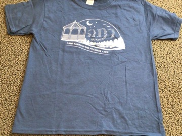 Selling multiple of the same items: CRP Youth Medium 2018 Camp T-shirt