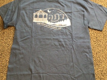 Selling multiple of the same items: CRP Adult Medium 2018 Camp T-shirt