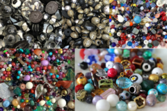 Liquidation/Wholesale Lot: 100 LBS Incredible bead assortment-Free Shipping !! Free Shipping