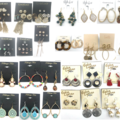 Liquidation/Wholesale Lot: 200 Pair All Designer Name Brand Earrings-Amazing Lot- Qualilty
