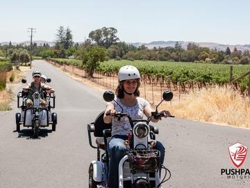 per person: Sonoma Wine Country on a Pushpak