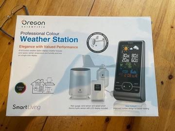 Faire offre: lots de stations météo domestique OREGON