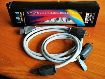 Sale: Barrette secteur SUPRA MD06-EU MKII et Câbles Lorad 2.5 et 1.5