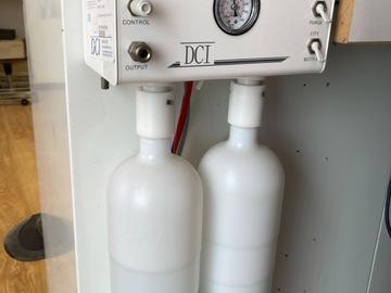 Gebruikte apparatuur: Fles systeem