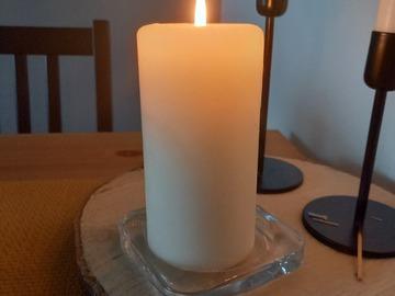 Ilmoitus: Lasiset kynttilänaluset 14kpl