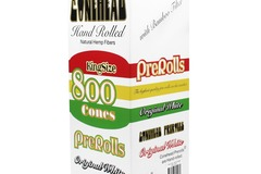 Equipment/Supply offering (w/ pricing): ConeHead King Size Original White Hemp Cones