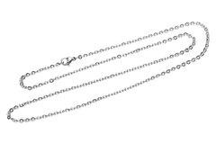 Vente au détail: Collier Chaine N°06-03 en acier inoxydable maille forçat de 50 cm
