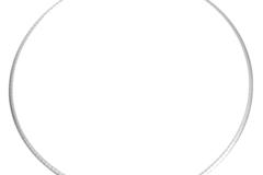 Vente au détail: Collier Chaine N°10 en acier inoxydable maille rectangle de 45 cm