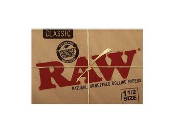 Post Now: RAW Classic Rolling Papers 1½