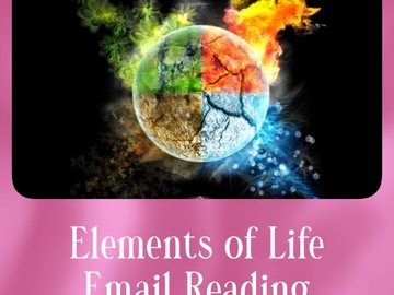 Selling: Elements of Life Email Reading (5 Cards)