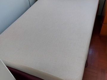 Selling without online payment: Bed with storage and mattress inbuilt