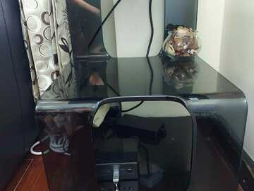 Selling without online payment: Side glass door table
