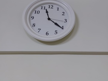 Selling without online payment: Curtain and wall clock