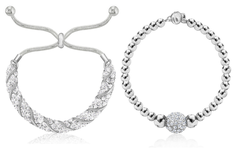 Liquidation/Wholesale Lot: 12 pieces Swarovski Elements Bracelets -  Holiday HOTT SELLERS!!