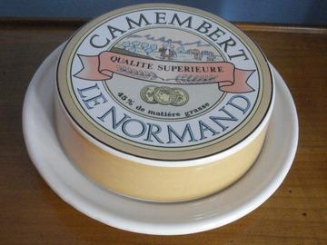 Vente: Boîte à camembert en porcelaine