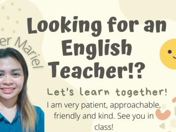 Offering with online payment: English learning language (  also can offer Beginner in English)