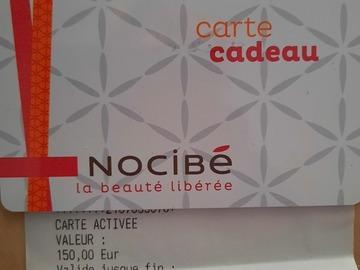 Vente: Carte cadeau Nocibé (150€)