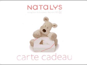 Vente: E-Carte Cadeau Natalys (200€)