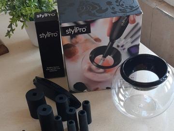 Venta: Limpiador de brochas Original STYLPRO + Regalo 10 pinceles