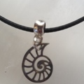For Sale: Snail seashell Necklace